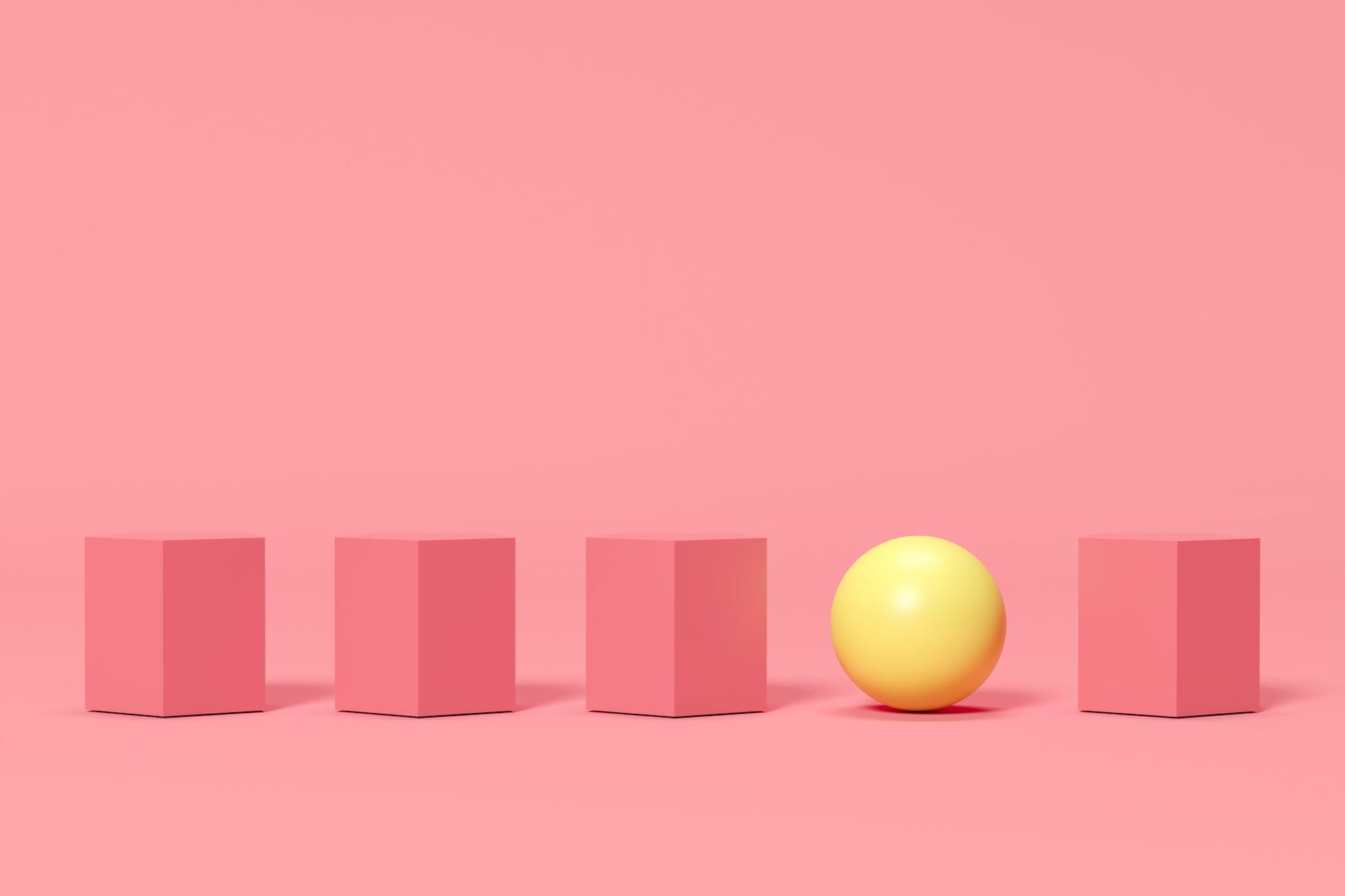 Cube - cercle